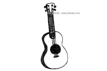 吉他简笔画教程