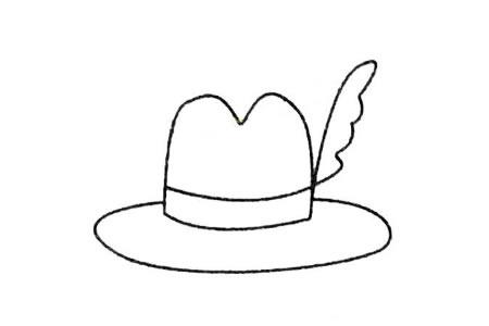 帽子简笔画大全及画法步骤