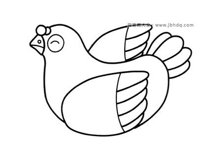 卡通鸽子简笔画图片