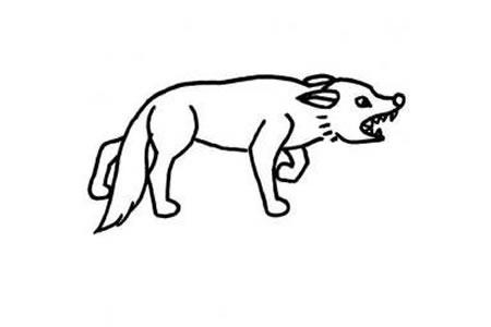 狼的简笔画