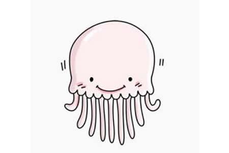 如何画水母
