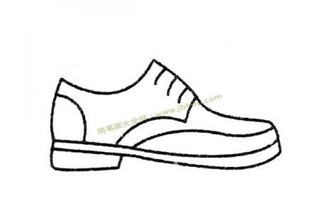 鞋子简笔画大全及画法步骤