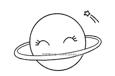 星球简笔画大全及画法步骤