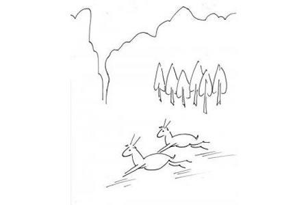 山羊的简笔画方法介绍