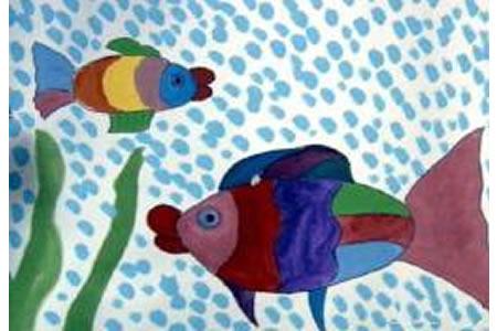 鱼妈妈和鱼宝宝