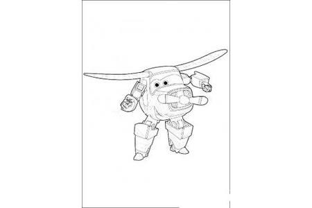 超级飞侠卡文 超级飞侠怎么画