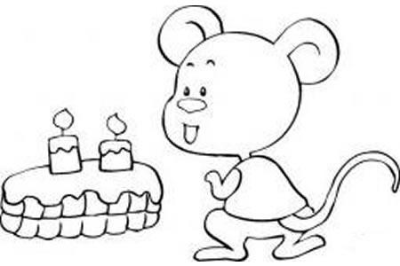 小老鼠简笔画怎么画呢
