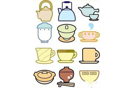 壶、杯子和碗