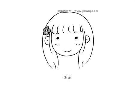 女生脸部的表现