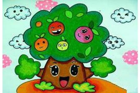 苹果树的幸福