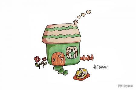 小房子怎么画