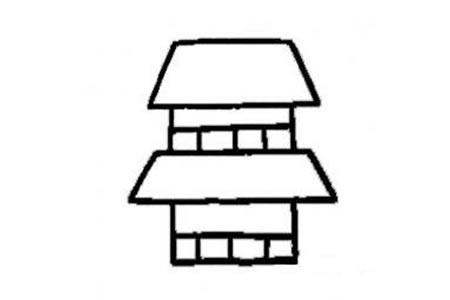 最简单的房子画法
