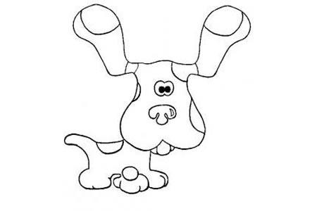动物简笔画 简笔画小狗