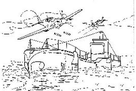 战斗中的军舰