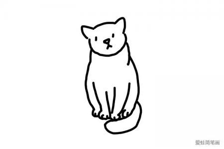 简单可爱的小猫猫