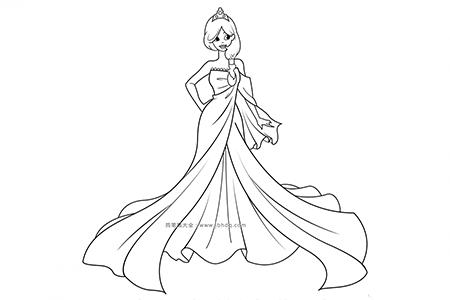 华丽的公主
