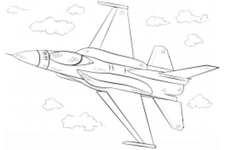 f - 16战隼战斗机