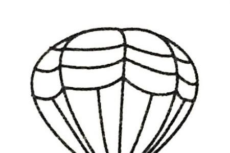 热气球简笔画大全及画法步骤