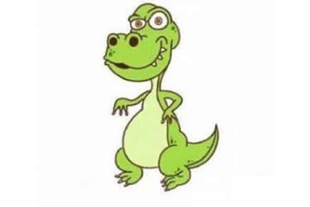 恐龙简笔画教程