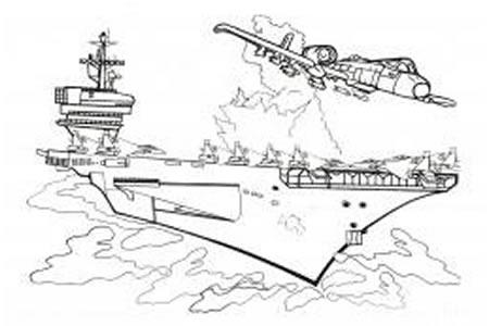 战斗机和战舰