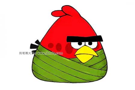 动漫人物粽子系列 愤怒的小鸟粽
