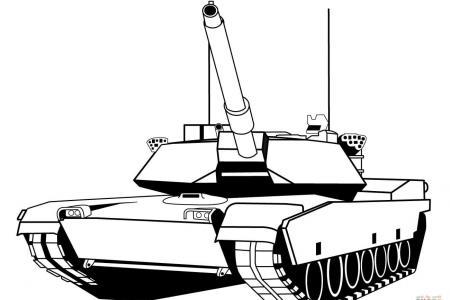 坦克的画法大全