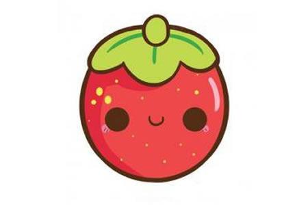 非常Q的小草莓教程