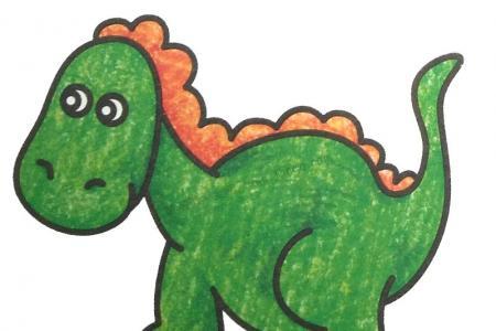 幼儿学画尼日尔龙
