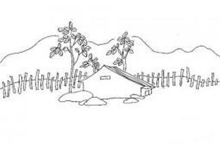 风景简笔画方法介绍