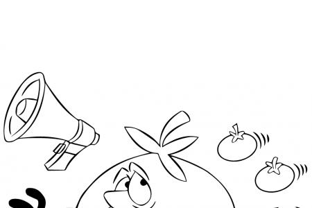 小西红柿追着卡通西红柿跑