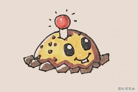 简笔画之土豆地雷