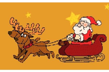 擦星星的圣诞老人