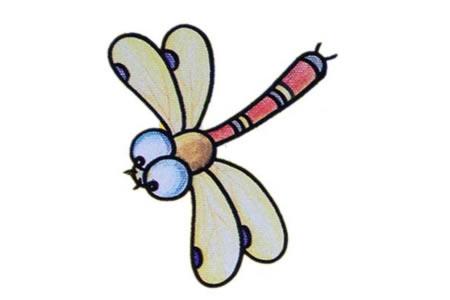 简笔画中级篇 蜻蜓