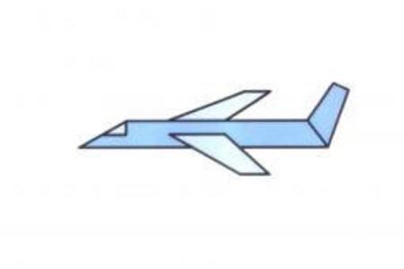 飞机的简笔画画法