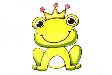 儿童轻松学画青蛙王子