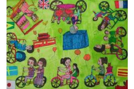 儿童画环游世界