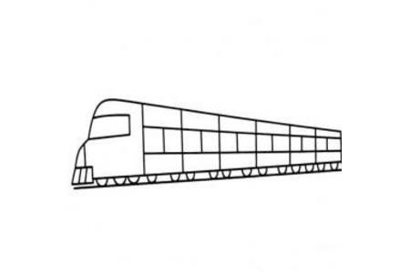 幼儿简笔画图片 简单的火车简笔画