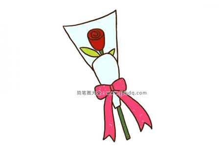 包装漂亮的玫瑰花