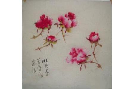 牡丹花蕾的画法
