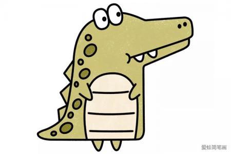 卡通大鳄鱼
