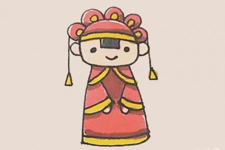 简笔画——新娘