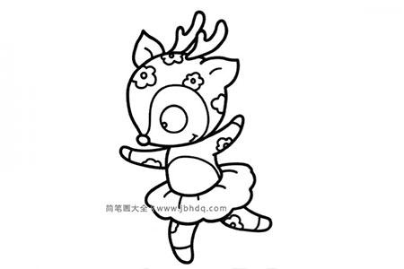 跳舞的梅花鹿