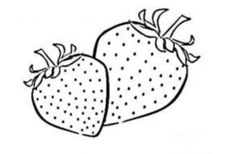 美味的草莓