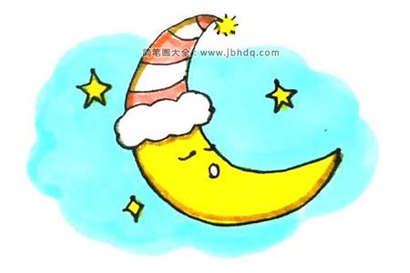 睡着的月亮