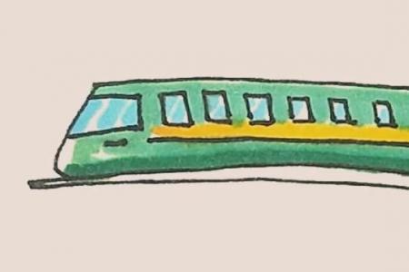 简笔画火车