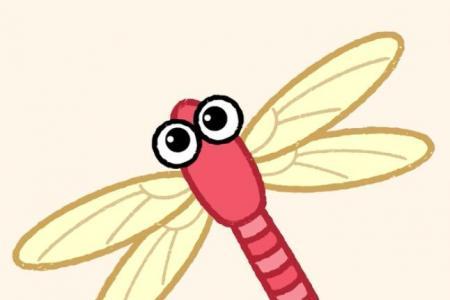 神奇简笔画 蜻蜓