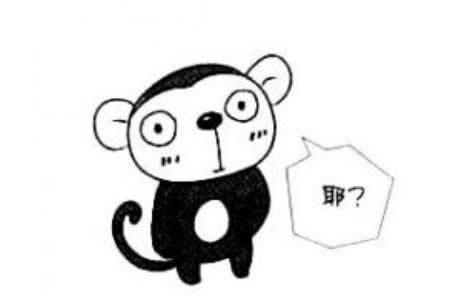 小猴子简笔画教程