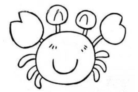 开心的螃蟹