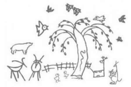 柳树姑娘怎么画呢