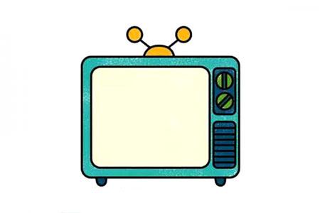 学画电视机